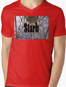 Stark Water Tower Mens V-Neck T-Shirt
