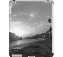 Arno River, Pisa  iPad Case/Skin