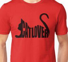 Cat Lover...Black Unisex T-Shirt