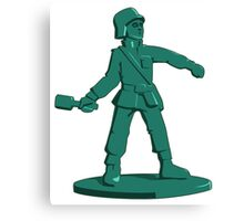 Toy Army Soldier Canvas Print