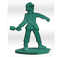 Toy Army Soldier Poster