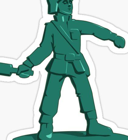 Toy Army Soldier Sticker