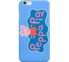 Peppa Pig Logo iPhone Case/Skin