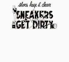 Typography : Sneakers Vs Shoes Men's Baseball ¾ T-Shirt