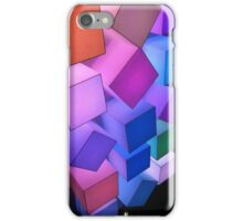 Glow Cubes #2 iPhone Case/Skin