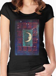 la Luna  Women's Fitted Scoop T-Shirt