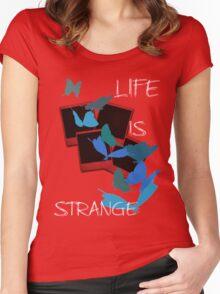 Strange-7 Women's Fitted Scoop T-Shirt
