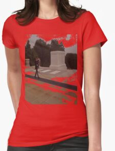 Red FriDay Womens Fitted T-Shirt