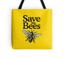 Save The Bees Beekeeper Quote Design Tote Bag