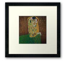 Tribute to Gustav Klimt Framed Print