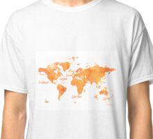 World map mango JV ed Classic T-Shirt