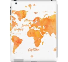 World map mango JV ed iPad Case/Skin