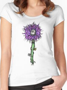Skull Bloom Women's Fitted Scoop T-Shirt