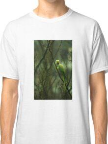 Green Ringnecked Parakeet Classic T-Shirt