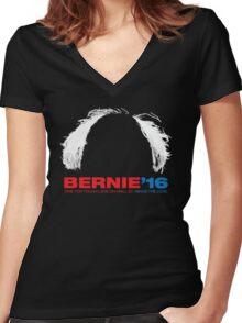 Bernie Sanders for President Women's Fitted V-Neck T-Shirt