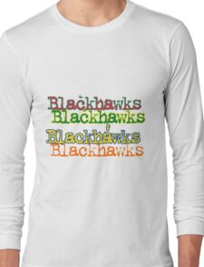 Hawkcolortricks Long Sleeve T-Shirt
