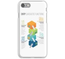 ENTP Sarcastic Functions iPhone Case/Skin
