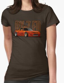 RX-7 Womens Fitted T-Shirt