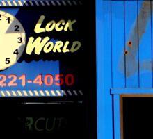 O O'CLock World Sticker