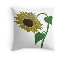 Sunflower :) Throw Pillow