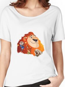 Zootopia Women's Relaxed Fit T-Shirt