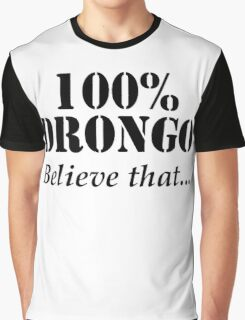 100% Drongo - Believe That Graphic T-Shirt