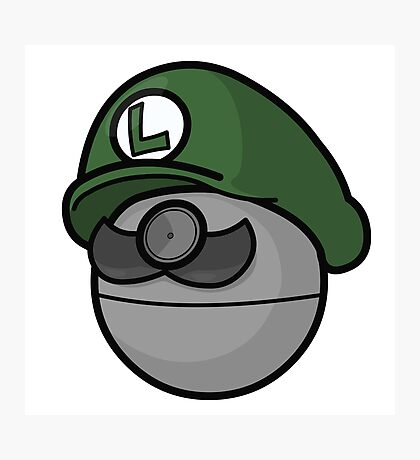 Luigi Pokemon Photographic Print