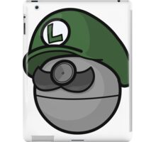 Luigi Pokemon iPad Case/Skin