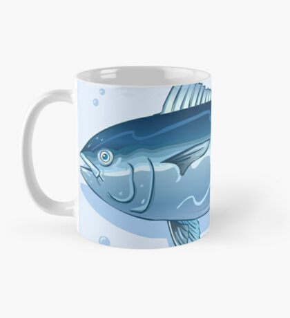 Tuna Watercolor Underwater World Mug