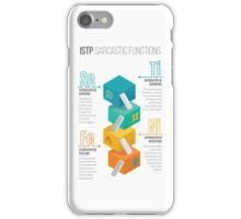 ISTP Sarcastic Functions iPhone Case/Skin