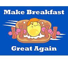 PARODY: Make Breakfast Great Again Photographic Print