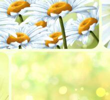 Flowers collage Sticker