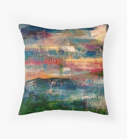 a piece of creation  Throw Pillow