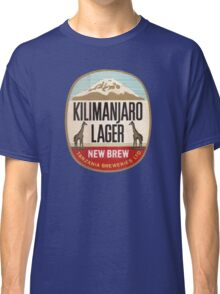 KILIMANJARO LAGER BEER Classic T-Shirt