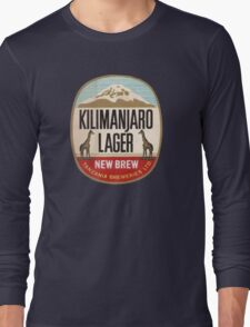 KILIMANJARO LAGER BEER Long Sleeve T-Shirt