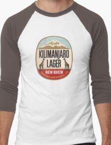KILIMANJARO LAGER BEER Men's Baseball ¾ T-Shirt