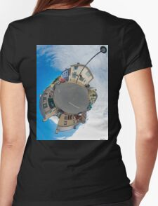 Kilcar Main Street - Sky Out Womens Fitted T-Shirt