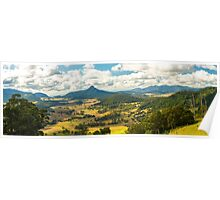 Carrs Lookout in the Scenic Rim, Queensland Poster