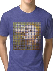 David Bowie, Hunky Dory, Benday Dots Tri-blend T-Shirt