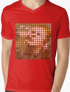 David Bowie, Hunky Dory, Benday Dots Mens V-Neck T-Shirt