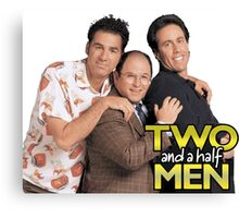Two and a Half Men Canvas Print