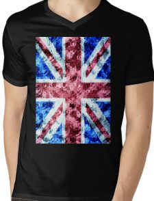 The Union Jack Mens V-Neck T-Shirt