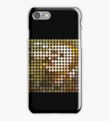 David Bowie, Hunky Dory, Benday Dots iPhone Case/Skin