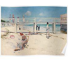 Charles Conder - A holiday at Mentone 1888 Poster