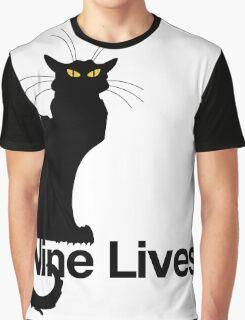 Nine Lives Graphic T-Shirt