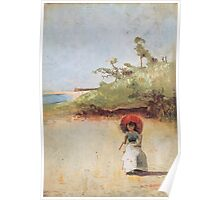 Charles Conder  - All on a summer s day 1888 Poster