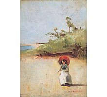 Charles Conder  - All on a summer s day 1888 Rustic  Australian  Provance  Photographic Print