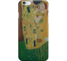 Tribute to Gustav Klimt iPhone Case/Skin