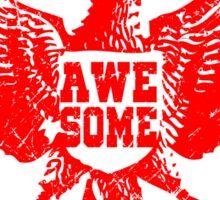 Garuda Indonesia is awesome Sticker