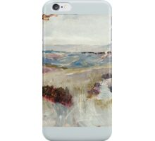 Charles Conder  - Dandenongs from Heidelberg 1889 iPhone Case/Skin